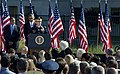 U.S. Army Gen. Martin E. Dempsey, at lectern, the chairman of the Joint Chiefs of Staff, delivers remarks during a 9-11 remembrance ceremony at the Pentagon Sept 120911-D-IE715-240.jpg