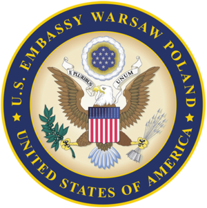 Embassy of the United States, Warsaw - Seal of the Embassy of the United States, Warsaw