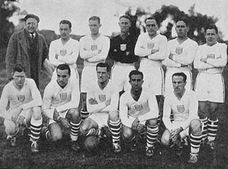 History of soccer in the United States - The US national squad at 1930 FIFA World Cup.