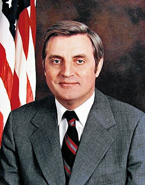 1984 Democratic National Convention - Image: U.S Vice President Walter Mondale