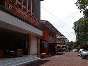 Diponegoro University - Pleburan campus buildings