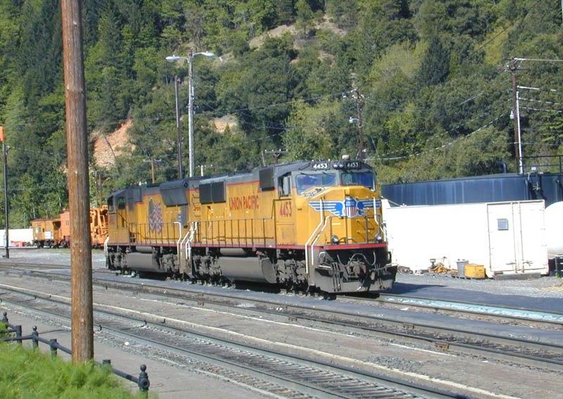 UP Diesel 4453