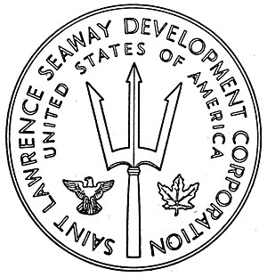 Saint Lawrence Seaway Development Corporation - Image: US SLSDC Seal EO10581