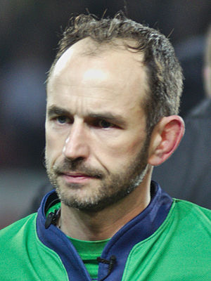 Romain Poite - Poite officiating in a Top 14 match in December 2013