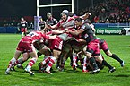 USO-Gloucester Rugby - 20141025 - Maul 2.jpg