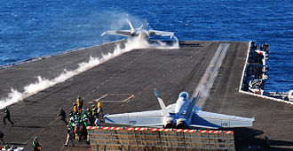Carrier Strike Group 1 - Carrier qualifications (25 February 2013)