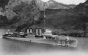 USS Charles Ausburn (DD-294)