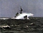 USS Hamner (DD-718) in heavy weather 1969.jpg