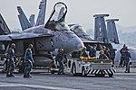 USS Ronald Reagan (CVN-76) - F-A-18E Super Hornet VFA-137 (14046546148).jpg
