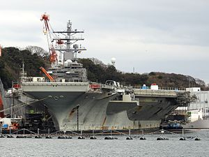 USS Ronald Reagan in port at Yokosuka.jpg