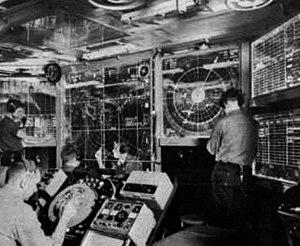 USS Triton (SSRN-586) - Image: USS Triton CIC