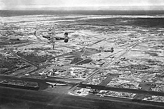 970th Airborne Air Control Squadron - Image: US Army Airfield on Baltra