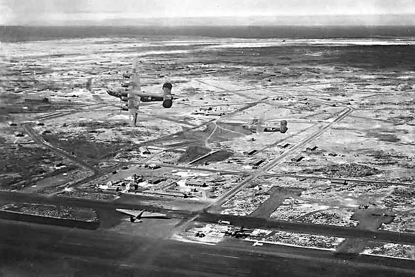 US Army Airfield on Baltra