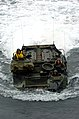 US Navy 050615-N-9866B-006 An amphibious assault vehicle makes its way through the Pacific Ocean to embark aboard the amphibious assault ship USS Peleliu (LHA 5).jpg