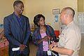 US Navy 091120-N-7353K-034 Capt. Rodelio Laco speaks with Jamaica first lady.jpg