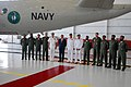 US Navy 100430-N-3436L-003 Gather for a photo during the U.S. Navy and Pakistan Navy P-3C Orion Transfer Ceremony at Naval Air Station Jacksonville.jpg