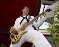 US Navy 100810-N-2903M-025 Musician 1st Class Spencer Powell plays during a concert at Navy Pier as part of Chicago Navy Week.jpg