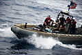 US Navy 110820-N-PB383-185 Sailors recover suspected drugs from a vessel off the San Diego coast.jpg
