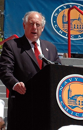 Quinn as lieutenant governor in 2006