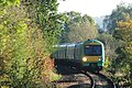 Uckfield - GTSR Southern 171802 approaching from Oxted.JPG