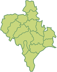 Raions of the Ivano-Frankivsk Oblast