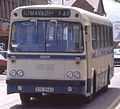 Ulsterbus Leyland Leopard, Limavady. The last days of No.1943. June 1990 - Flickr - sludgegulper crop.jpg