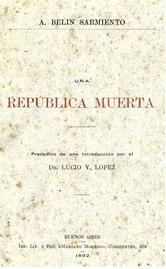 Una República muerta - Augusto Belin Sarmiento.pdf