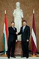 Ungārijas parlamenta priekšsēdētāja oficiālā vizīte Latvijā (8122299153).jpg