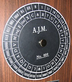 Cipher Disk Wikipedia