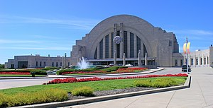 Cincinnati Museum Center at Union Terminal - Exterior view of the Cincinnati Museum Center