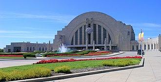 Cincinnati Museum Center at Union Terminal - Exterior view of the Cincinnati Museum Center