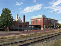 Union Station and Burlington Freight House (Davenport, Iowa).JPG