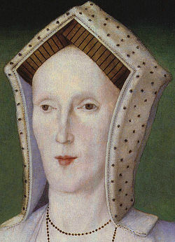 Unknown woman, formerly known as Margaret Pole, Countess of Salisbury from NPG cropped retouched.jpg