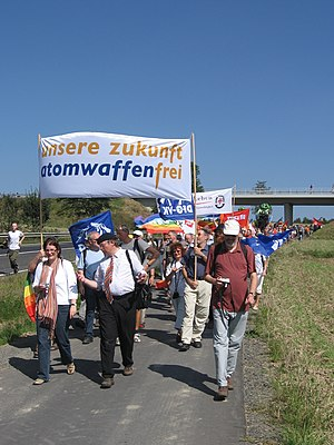 Demonstration against nuclear weapons in Germa...