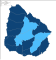 Uruguayan General Election 2014 1st round.png