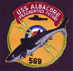 USS Albacore (AGSS-569) - Patch of the USS Albacore