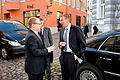 Välisminister Urmas Paet kohtus Tallinnas Läti uue välisministri Edgars Rinkēvičsega. 31. oktoober 2011 (6297881325).jpg