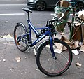 Vélo police nationale, Paris.JPG