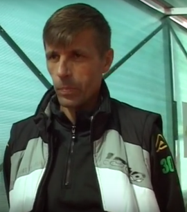 Valentin Badoi (pictured), former international player and manager of ACS Buftea during the 2012-13 season, when the club was ranked 6th. Valentin Badoi.png