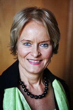 Valgerdur Sverisdottir, Islands samarbets- och naringsminister.jpg