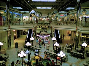 Valley View Mall (Roanoke, Virginia) - Interior of Valley View Mall