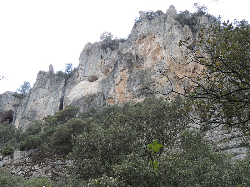 Rive sud du Vallon Sourn, Chateauvert