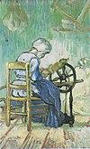 Van Gogh - Die Spinnerin (nach Millet).jpeg