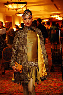 Vaneeza Ahmad at the after party for the Lux Style Awards 2007.jpg