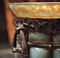 """Vase """"verre de jade"""" à monture métallique détail.jpg"""