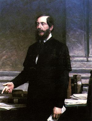 Minister of National Economy of Hungary - Image: Vastagh Portrait of Lajos Kossuth