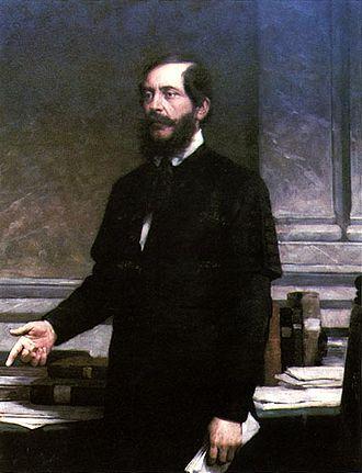Minister of National Economy of Hungary - Image: Vastagh Portrait of Lajos Kossuth