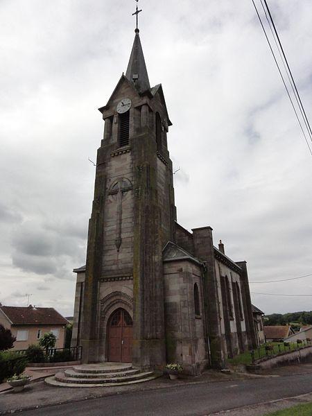 Vaucourt (M-et-M) église