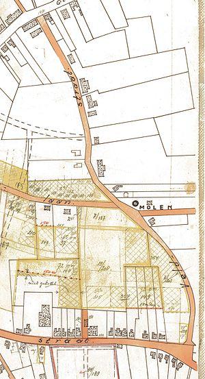 Veldstraat Deurne detail gemeentekaart circa 1950.jpg