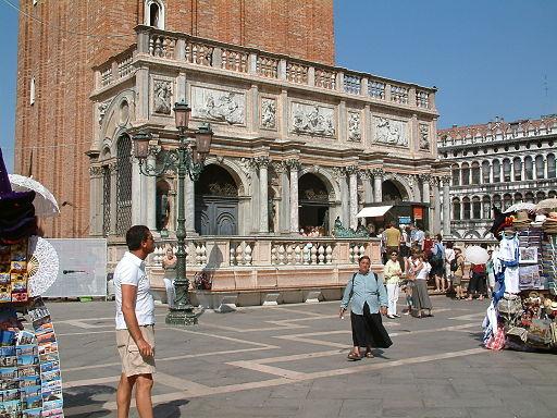 Venice, Loggetta del Sansovino